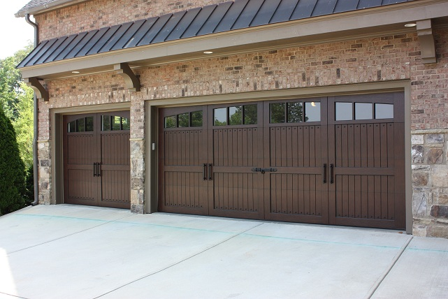 Garage door repair canton ga covenant garage doors for Composite wood garage doors