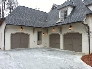 Wood-Carriage Garage Doors