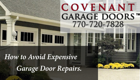 How To Avoid Expensive Garage Door Repairs Covenant